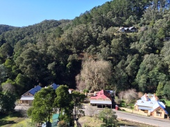 Walhalla township as viewed from the Tramway walking track
